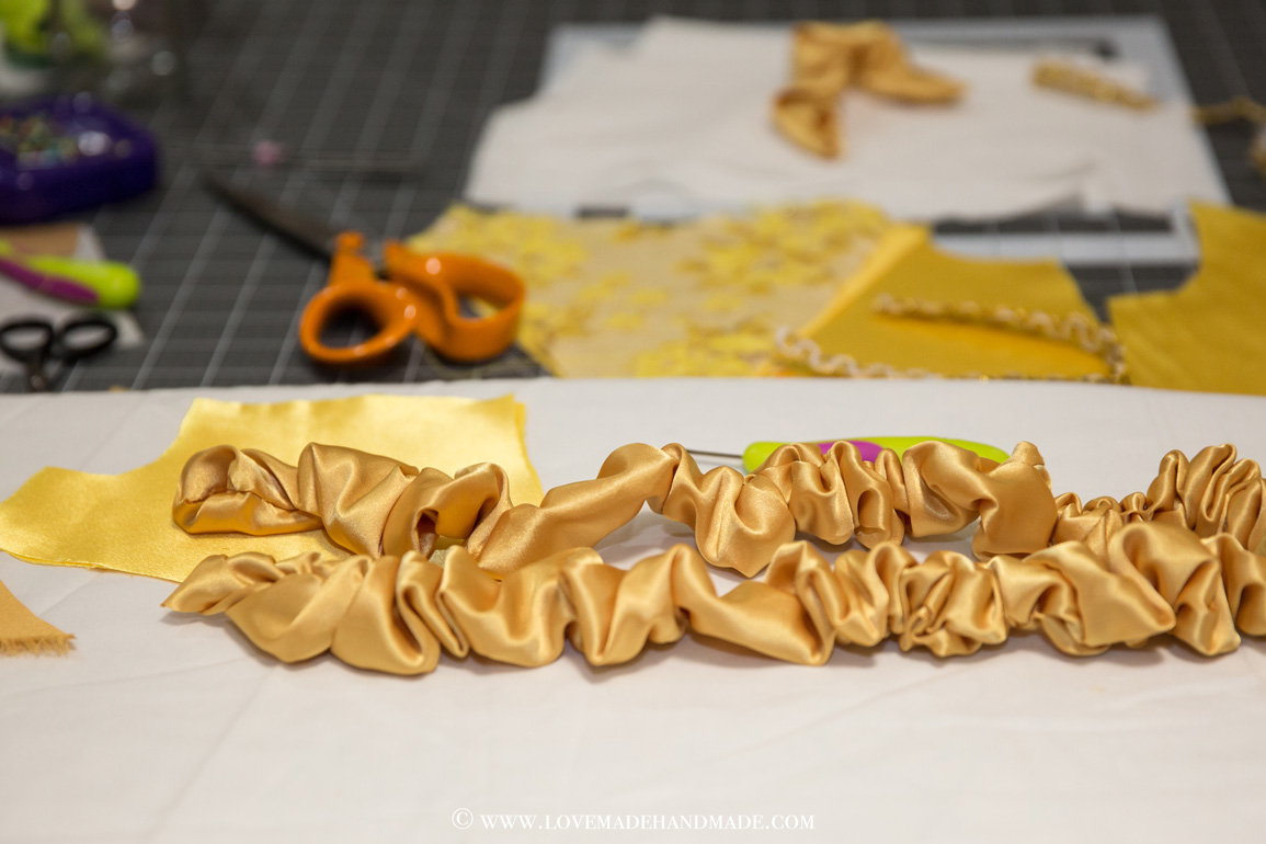 Read about my adventures in making a handmade Belle dress for a baby girl's 1st birthday...