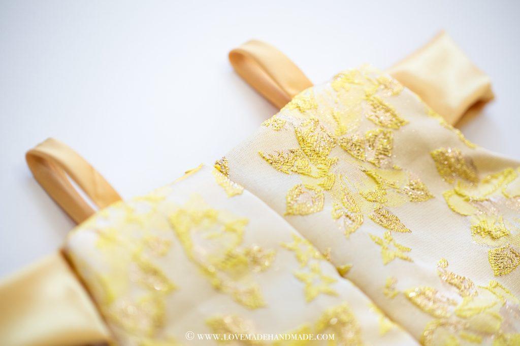 Princess Belle's Dress Reveal - couture design by Karina Moran @ LOVEMADE HANDMADE