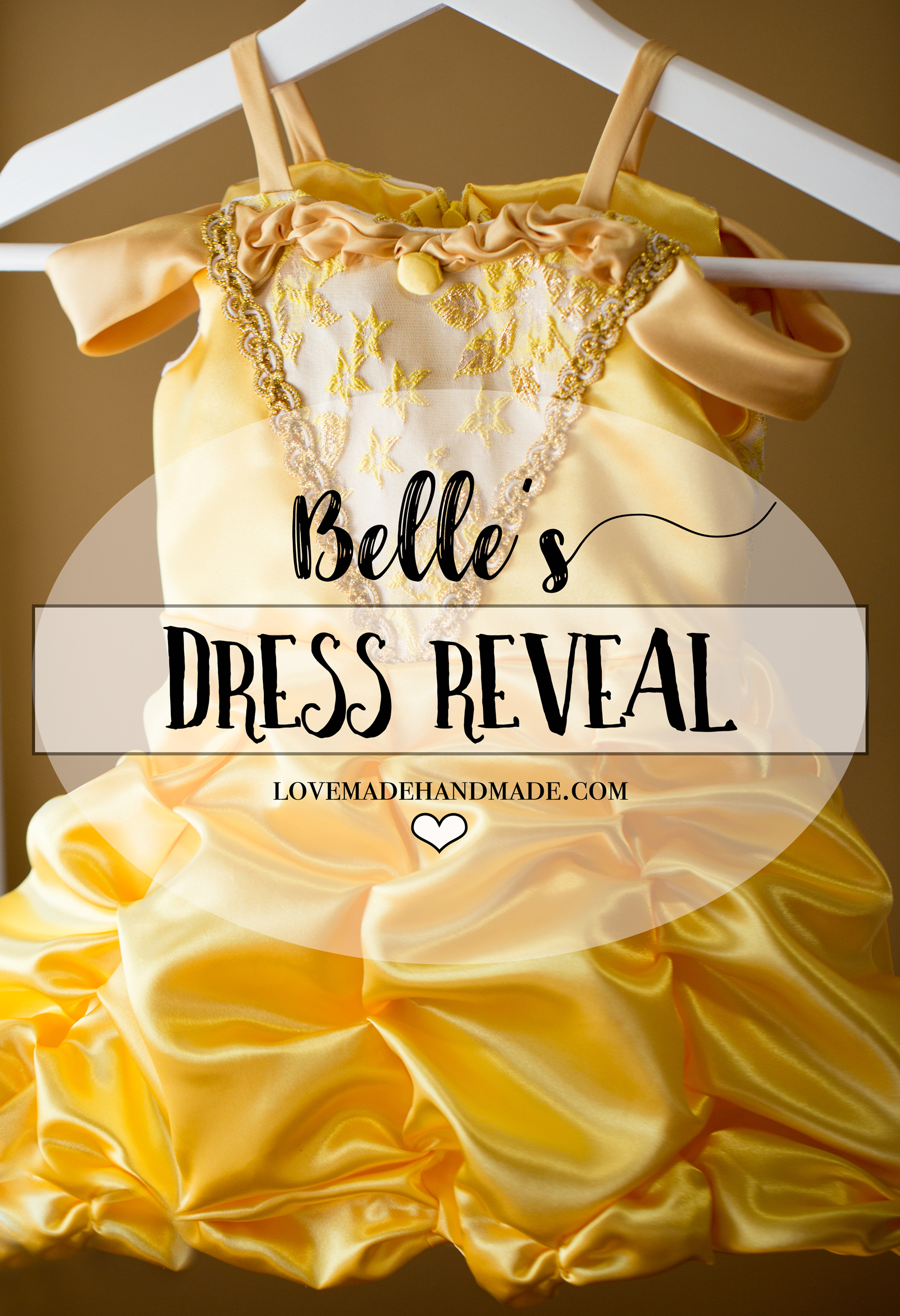 Princess Belle s Dress Reveal A Couture Beauty and the Beast
