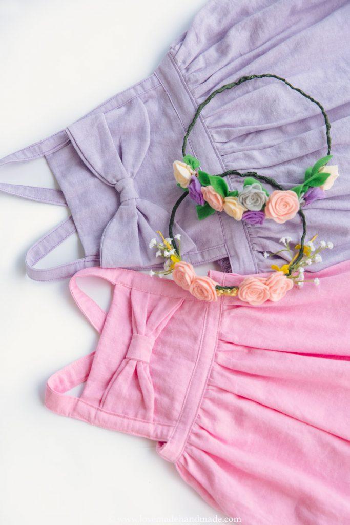 Handmade Pinafore Dress - Lovemade Handmade