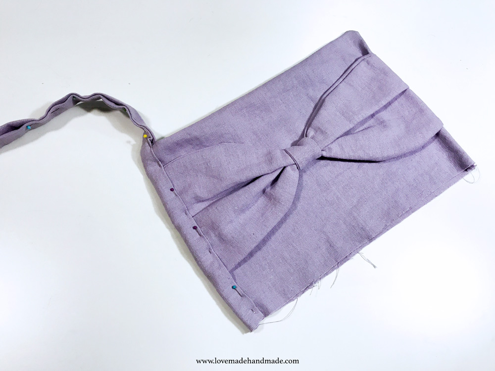 Sewing order for pinafore dresses