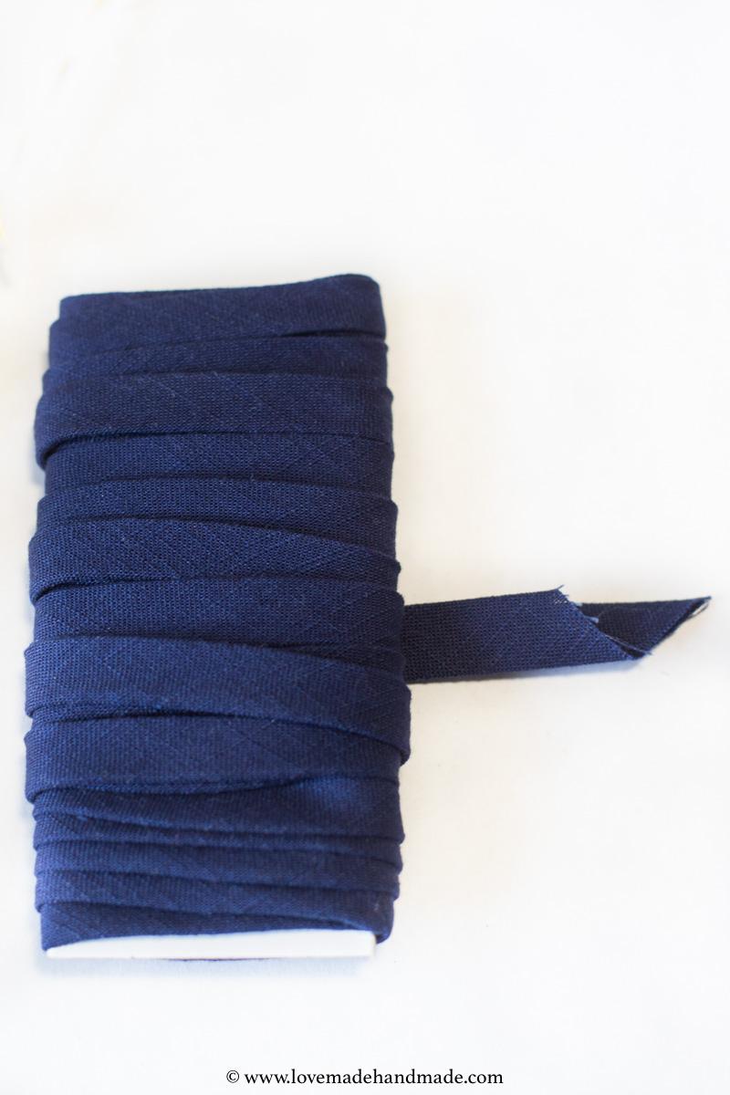 HANDMADE bias tape for my HANDMADE 30TH BIRTHDAY DRESS