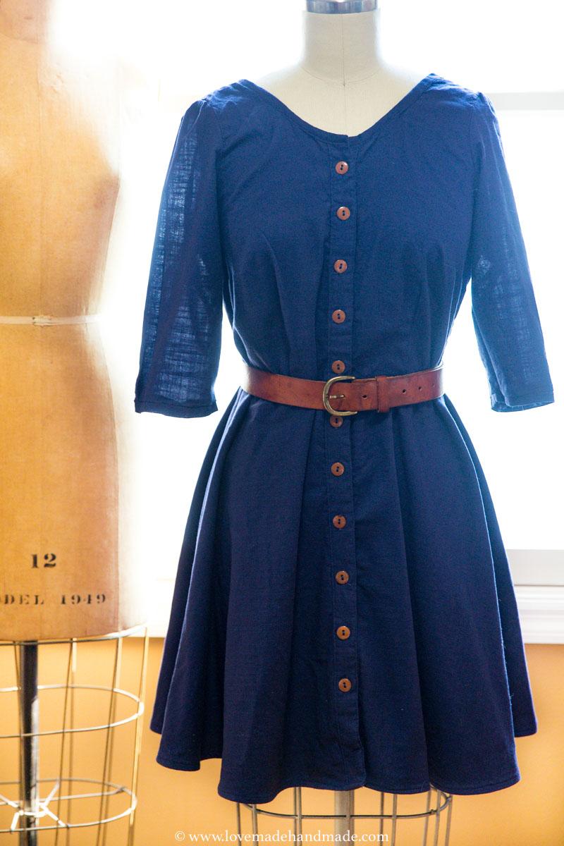 A self-drafted & handmade, nursing friendly, 30th Birthday Dress! LOVEMADE HANDMADE
