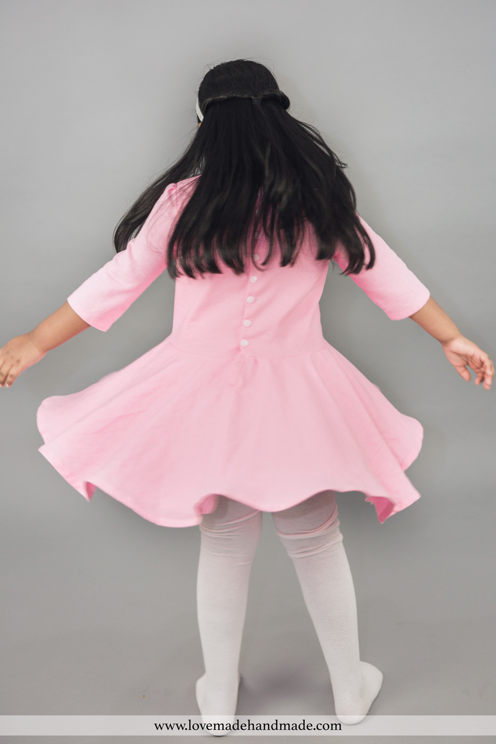 Handmade Birthday Dresses for the Thankful Sewing Blog Tour