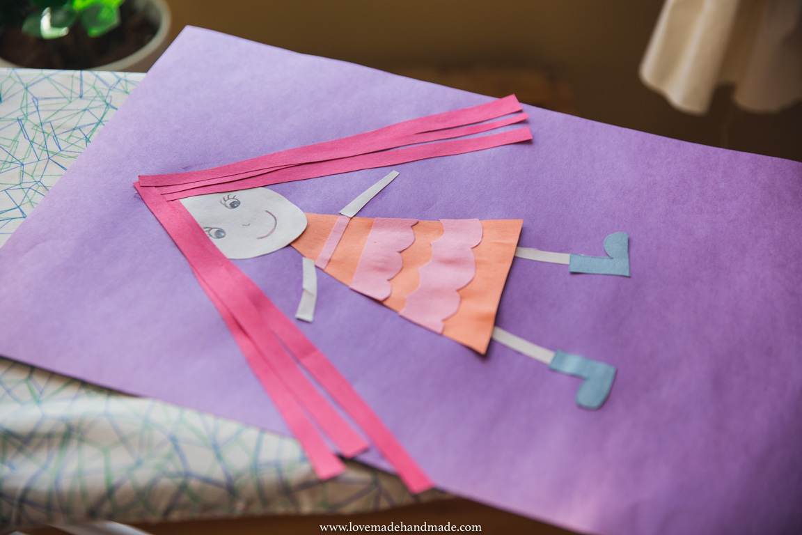 Homeschoolers creating Art - Lovemade Handmade